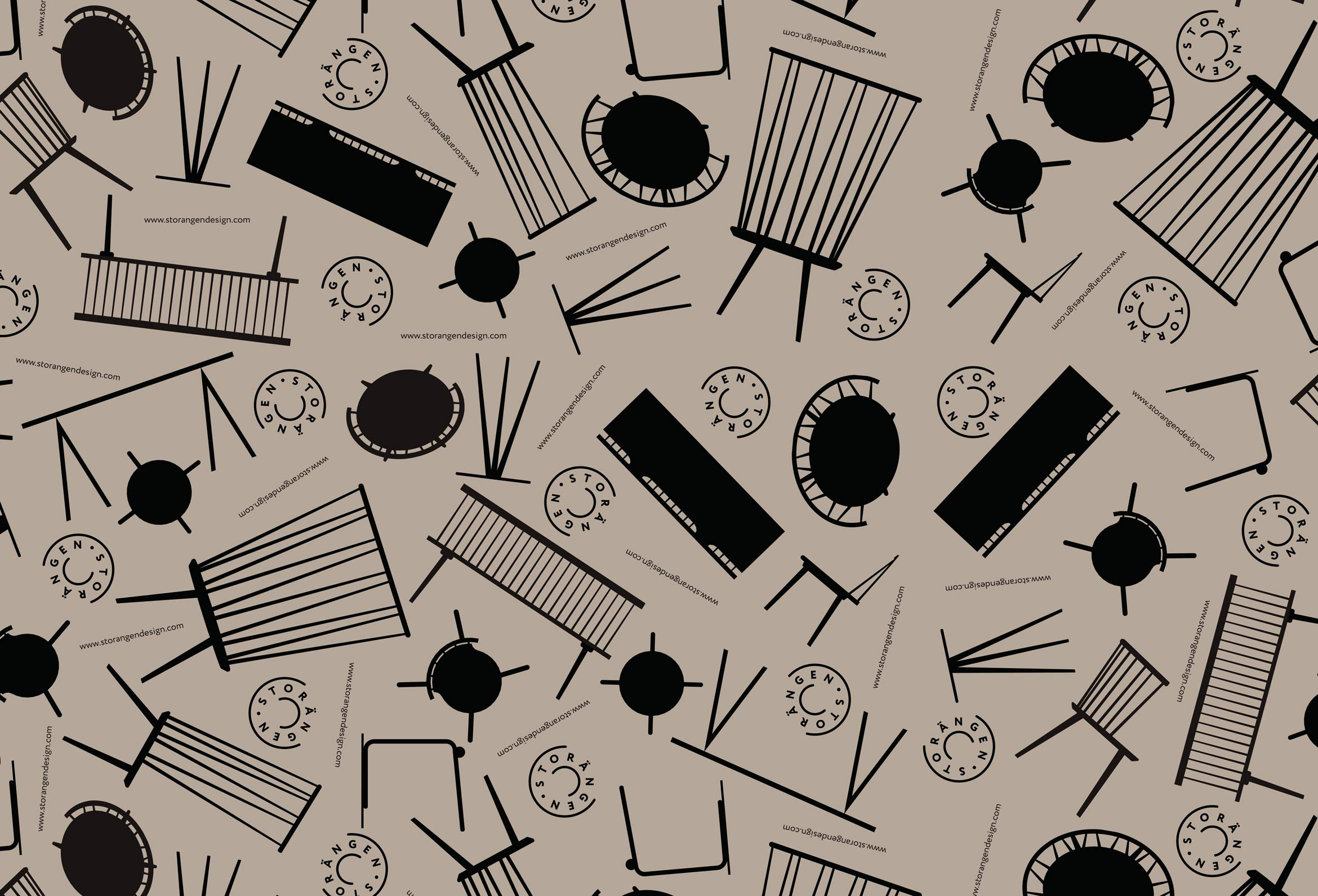 Pattern for print on Cardboard boxes